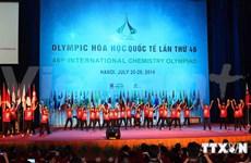 Ouverture des 46e Olympiades internationales de chimie