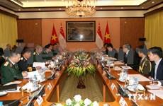 Dialogue Vietnam-Singapour sur la politique de défense
