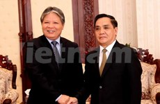 Les dirigeants laotiens reçoivent la délégation du ministère de la Justice