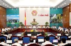 Le gouvernement discute de la situation socioéconomique