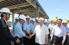 Le secrétaire général du Parti loue Thanh Hoa pour ses acquis