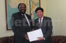 Le Zimbabwe souhaite intensifier la coopération avec le Vietnam