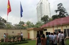 Cérémonie de lever du drapeau de l'ASEAN en Malaisie