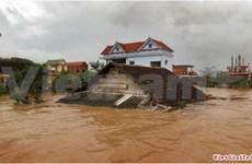 Typhon Nari : soutien de quatre localités sinistrées du Centre