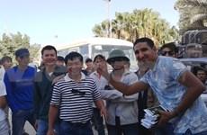 Plus de 1.300 ouvriers vietnamiens ont quitté la Libye