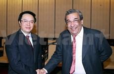 Une délégation du Parti socialiste égyptien en visite au Vietnam