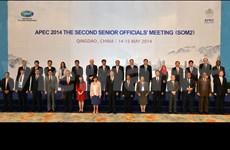 Ouverture de la Conférence des hauts officiels de l'APEC à Pékin (Chine)