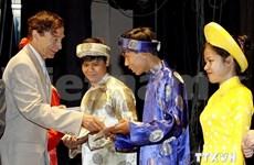 Remise de bourses Odon Vallet aux jeunes vietnamiens