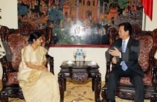 L'Inde fait grand cas de ses relations avec le Vietnam