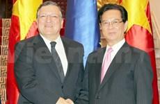 Entretien entre Nguyen Tan Dung et Manuel Barroso