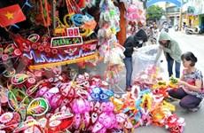 Les jouets vietnamiens ont la cote à la Fête de la mi-automne
