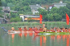 Hai Duong : fête de l'illumination de la rivière Luc Dau