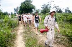 Tourisme dans les champs de mines