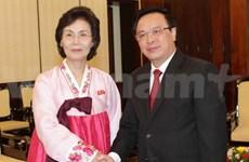 Une délégation de l'Union des femmes de Corée au Vietnam