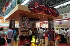 Le café Trung Nguyên à la CAEXPO en Chine
