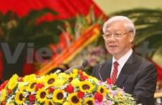 Le secrétaire général du PCV part pour la R. de Corée