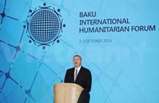 La VNA présente au Forum humanitaire international de Bakou