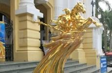 Remise des 60 statues du génie Giong