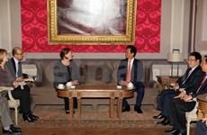 Le PM Nguyen Tan Dung clôt sa visite en Belgique, en UE