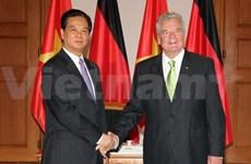 Le Premier ministre rencontre des dirigeants allemands