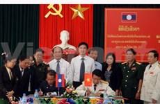Les anciens combattants de Quang Nam et Sékong resserrent leurs liens