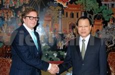 Un vice-PM vietnamien reçoit le président du Fonds d'investissement Harbinger Capital