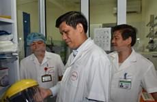 Renforcement de la prévention et de la lutte contre le virus Ebola