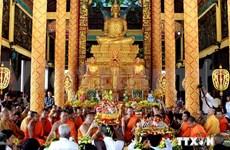 La fête Kathina célébrée au Village culturel et touristique des ethnies du Vietnam