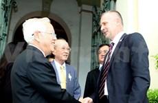 """Le maire de HCM-V reçoit une délégation de l'Association des maires des """"villes fermées"""""""