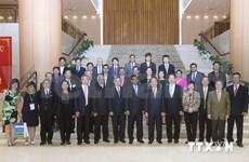 TI : Nguyen Sinh Hung rencontre des délégués de l'ASOCIO