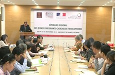 Séminaire régional des jeunes enseignants-chercheurs francophones à Hanoi