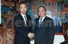 Le vice-PM Nguyen Xuan Phuc reçoit un responsable japonais