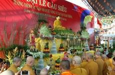 Une cérémonie religieuse pour les victimes des accidents de la route