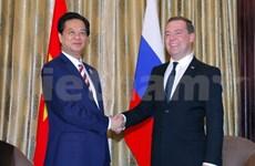 Le PM Nguyen Tan Dung rencontre ses homologues russe et australien