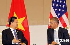 Le PM Nguyen Tan Dung rencontre le président Barack Obama