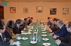 Le Secrétaire général du PCV rencontre le président du KPRF