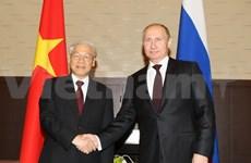 Entretien Nguyen Phu Trong-Vladimir Poutine