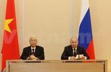 Les mass médias russes saluent la visite du leader du PCV