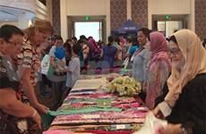La foire caritative internationale Bazaar de Ho Chi Minh-Ville
