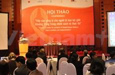 Colloque contre la violence sexospécifique à Hanoi