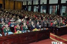 Le chef du Parti félicite les anciens combattants