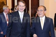 Le président de la Douma d'Etat russe termine sa visite au Vietnam