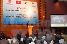 Libre-échange : 9e tour de négociations Vietnam-R. de Corée