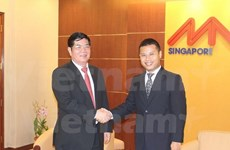 VN et Singapour partagent des expériences dans l'économie insulaire