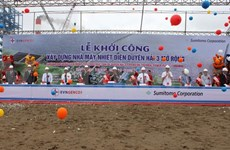 Développement des projets électriques de Duyen Hai