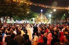 Rencontre au Comité de solidarité catholique à l'occasion de Noël