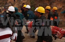 Lam Dong : bravo et merci aux secouristes du tunnel effondré