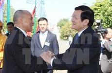 Vietnam et Cambodge continuent de développer la solidarité et l'amitié traditionnelle