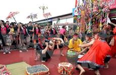 Ouverture de la fête culturelle de l'ethnie Thai