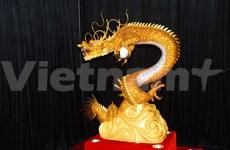 Des statues d'animaux sacrés des Thaïlandais exposées à Da Lat